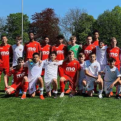Houston Dynamo Youth U-14 Boys tour Holland and Germany