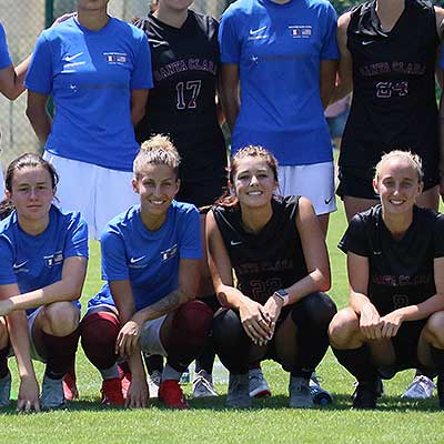 Santa Clara University tour France during FIFA Women's World Cup